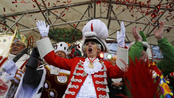 Karnevalskostüme - singende Karnevalsjecken