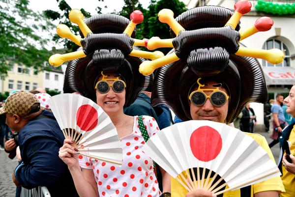 Karnevalskostüme - tolle Ideen aus Japan