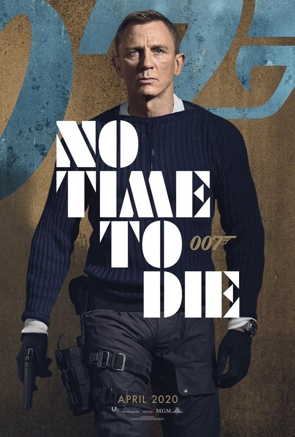 Keine Zeit zu sterben Alles, was wir über den 25. James Bond wissen daniel craig poster