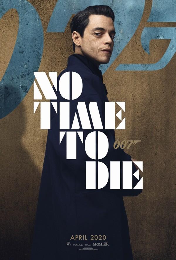 Keine Zeit zu sterben Alles, was wir über den 25. James Bond wissen safin melek poster