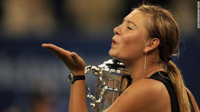 Maria Sharapowa Rücktritt vom professionellen Tennis fünffache Grand-Slam-Siegerin