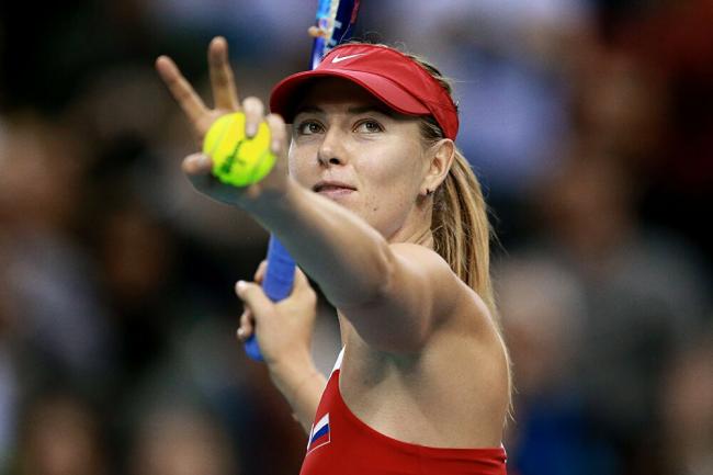 Maria Sharapowa Rücktritt vom professionellen Tennis richtiger Hingucker auf dem Spielplatz