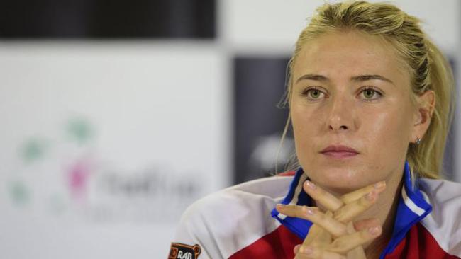 Maria Sharapowa Rücktritt vom professionellen Tennis sie sagt Goodbye