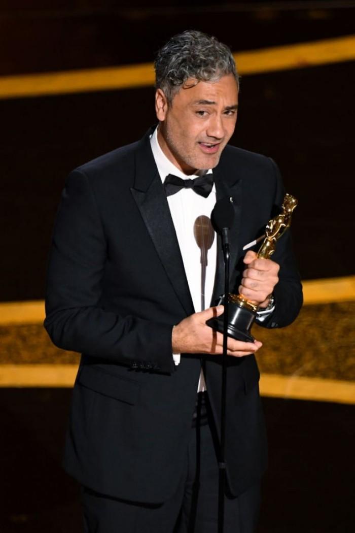 Oscars 2020 Taika Waititi Oscar für das beste adaptierte Drehbuch Jojo Rabbit