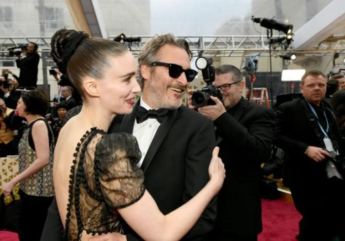 Oscars 2020 zum 92. Mal Joaquin Phoenix auf dem Roten Teppich vor Dolby Theatre in L.A.