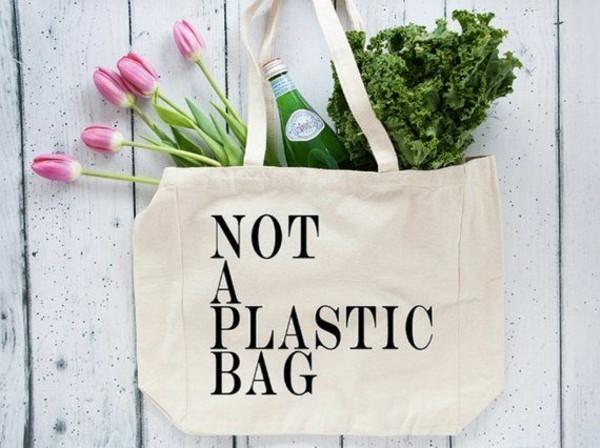 Plastikfrei einkaufen Beutel Baumwolle Lebensmittel