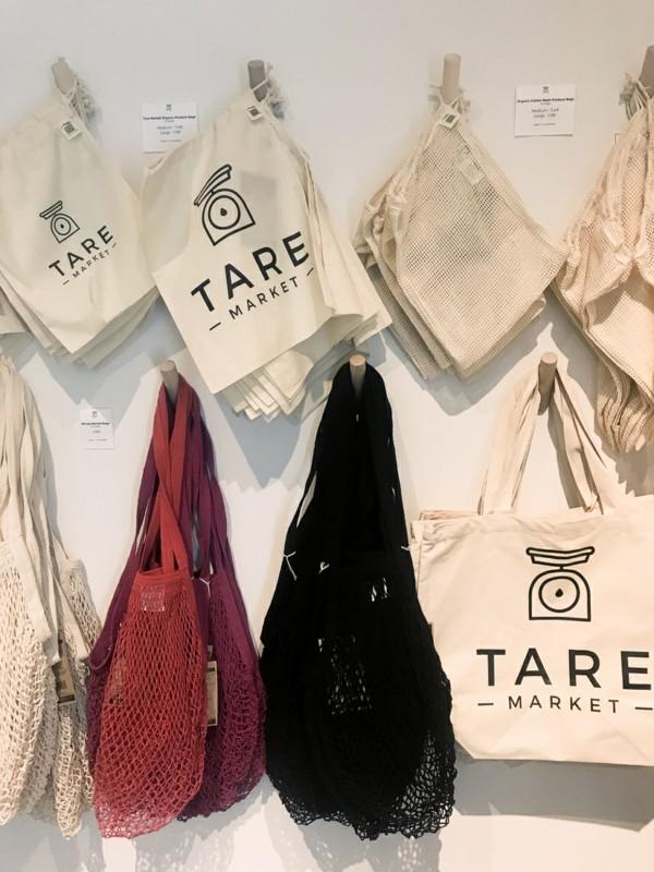 Plastikfrei einkaufen wiederverwendbare Beutel Baumwolle Netz