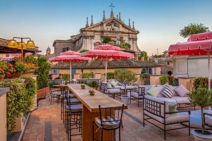 Reiseziele für Romantiker Valentinstag feiern in Rom zu zweit Essen und Trinken genießen