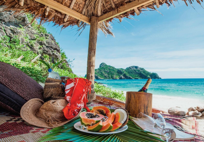 Reiseziele zum Valentinstag Fidschi-Inseln schöne Natur und exotisches Essen entdecken