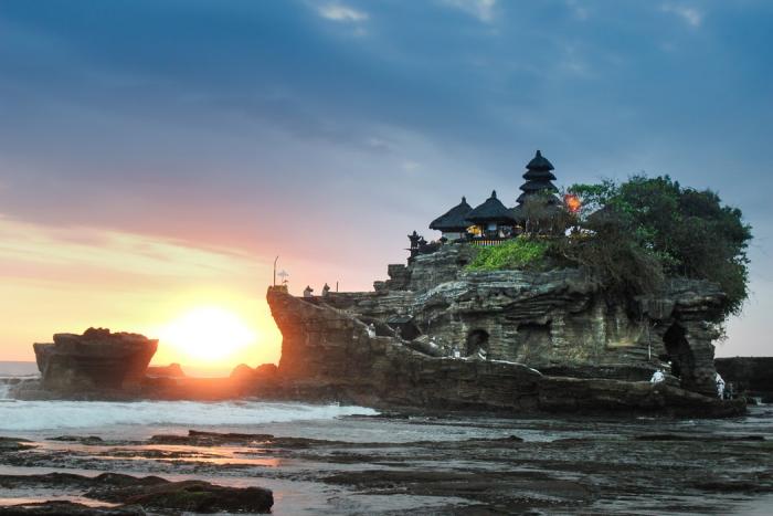 Reiseziele zum Valentinstag reisen zu zweit Insel Bali besuchen Indonesien
