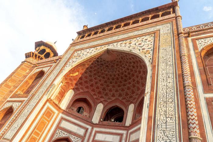 Reiseziele zum Valentinstag reisen zu zweit Taj Mahal Indien indische Architektur