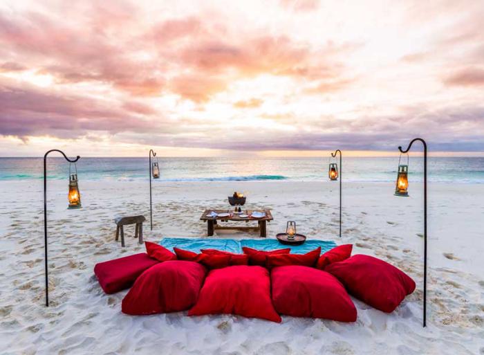 Reiseziele zum Valentinstag reisen zu zweit die Seychellen echtes Flitterwochenparadies