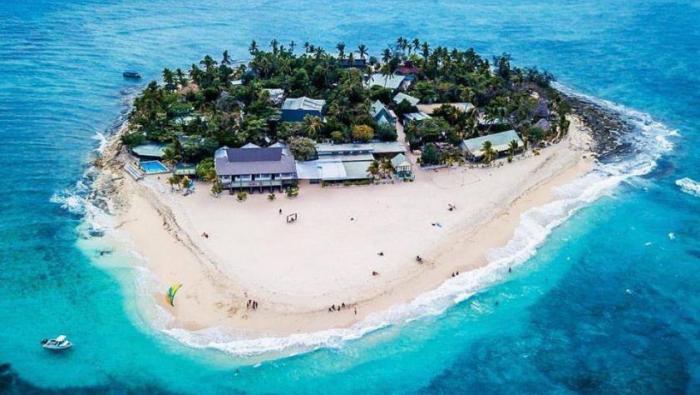 Reiseziele zum Valentinstag reisen zu zweit eine der Fidschi-Inseln im Südpazifik