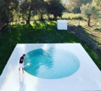 Runde Gartenpools bringen viel Badespaß und weitere Vorteile mit