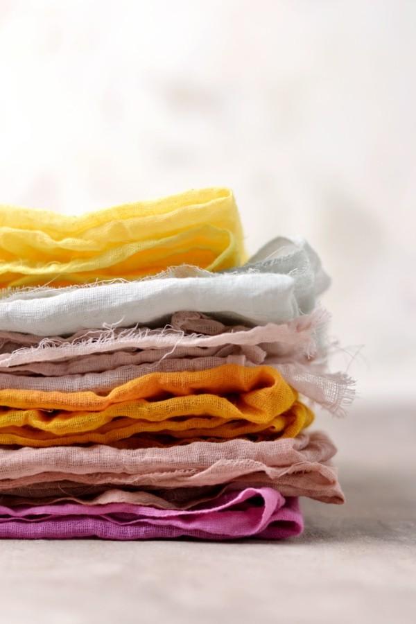 Stoff färben Textilien färben Kleidung färben Anleitung