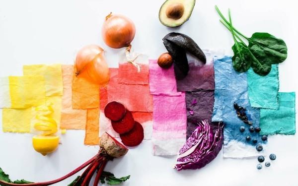 Stoff färben Textilien färben Kleidung färben Lebensmittel verwenden