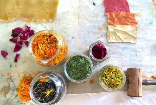 Stoff färben Textilien färben Kleidung färben aber womit