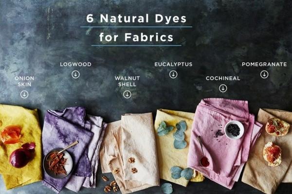 Stoff färben Textilien färben Kleidung färben auf natürlicher Weise