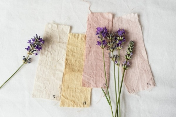 Stoff färben Textilien färben Kleidung färben natürliche Materialien benutzen