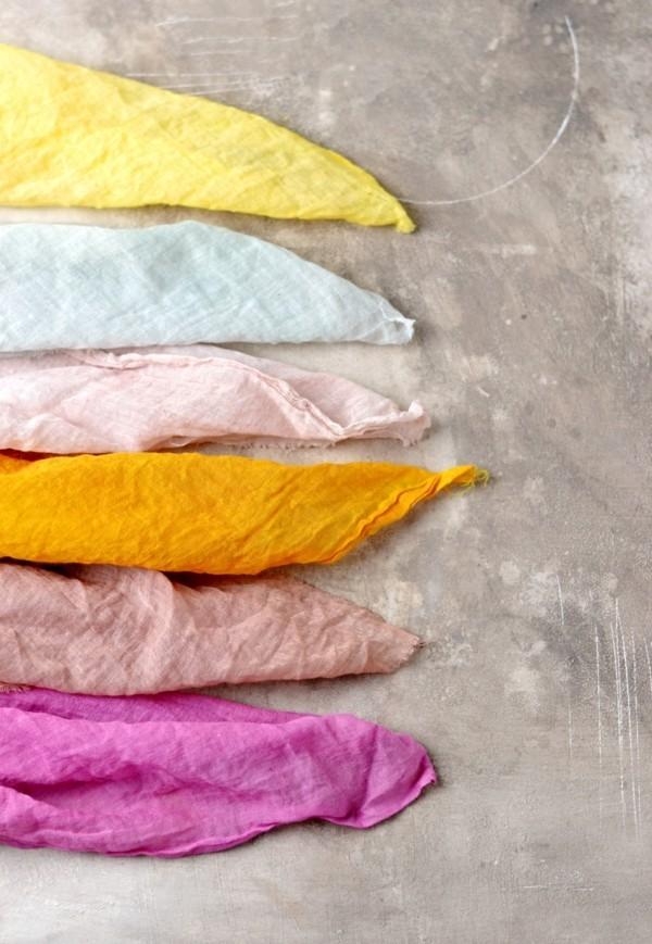 Stoff färben Textilien färben Kleidung färben praktische Tipps und Anleitung