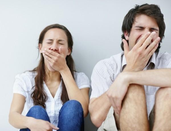 Warum gähnt man Gähnen ist ansteckend