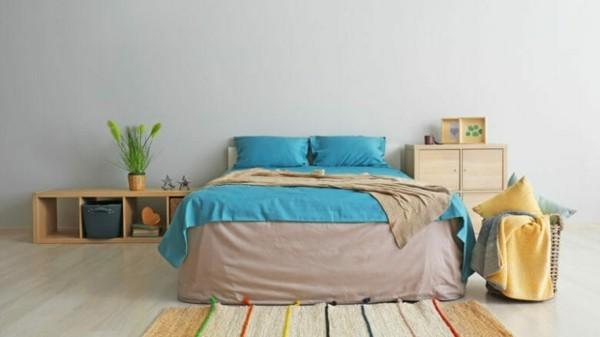Wasserbett gesundheitliche Vorteile Schlafzimmer einrichten