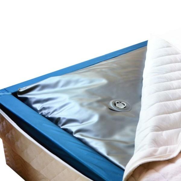 Wasserbett gesundheitliche Vorteile gesunder Schlaf Wassermatratze