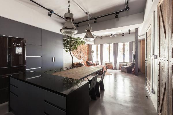 Wohnung einrichten Altbeuwohnung Küchengestaltung