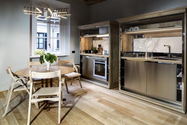 Wohnung einrichten moderne Kücheneinrichtung