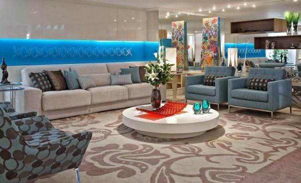 Wohnzimmertisch deko Elegante Wohnzimmergestaltung