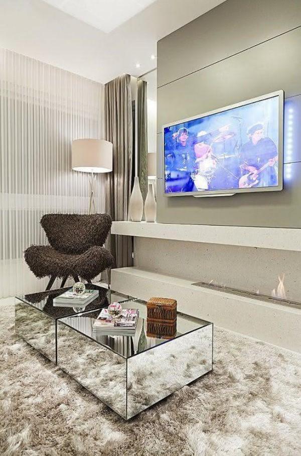 Wohnzimmertisch deko - Wohnzimmer Ideen modernes Design