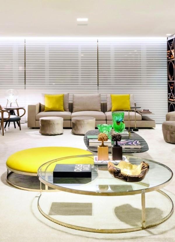 Wohnzimmertisch deko - elegante Möbeleinrichtung