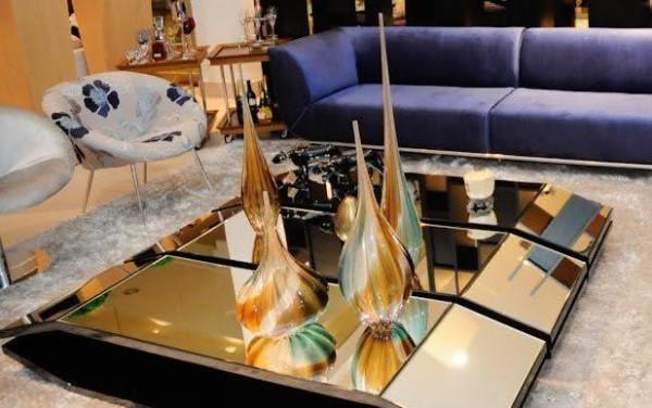 Wohnzimmertisch deko elegante Tischgestaltung