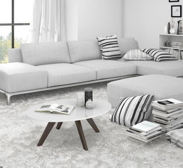 Wohnzimmertisch deko minimalistische Wohnideen