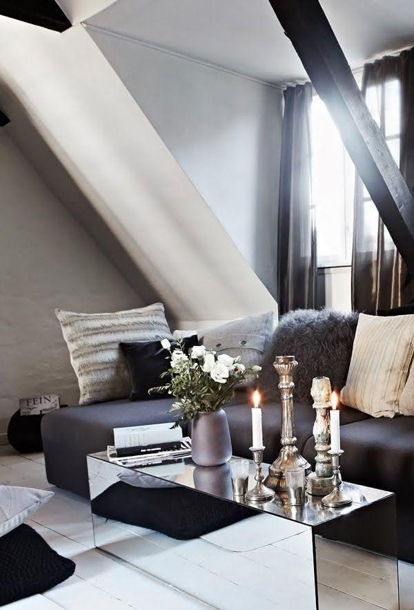 Wohnzimmertisch deko modernes Design Ideen