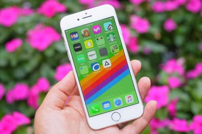 Wollen Sie ein iPhone 8 kaufen Das sollten Sie noch vorher wissen! iphone 8 im test regenbogen hübsch
