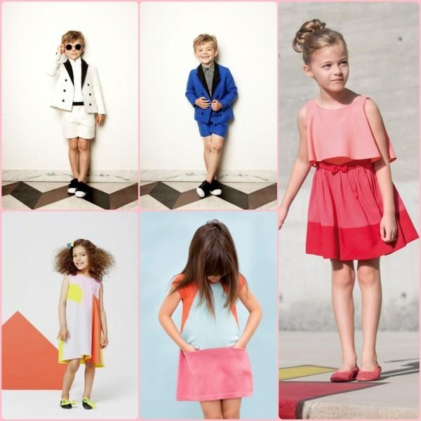 aktuelle modetrends 2020 festliche kindermode