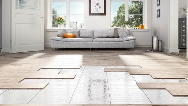 gemütliche Wohnung mit eleganter Bodenheizung
