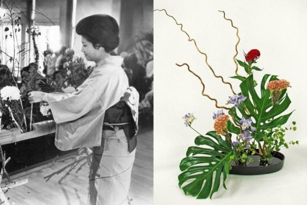 ikebana japanische blumensteckkunst