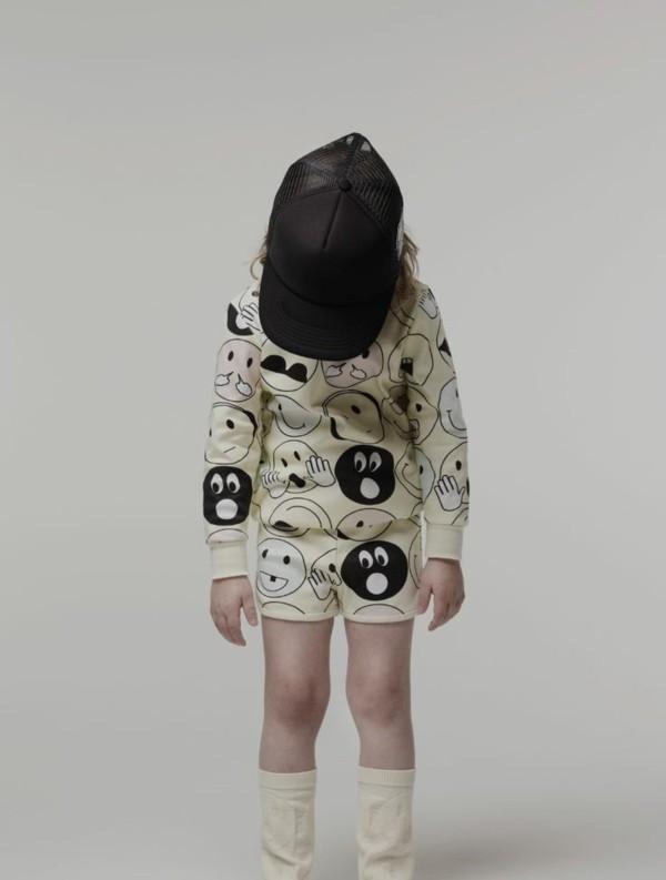 kindermode aktuelle modetrends EMOtICON collection Caroline Bosmans
