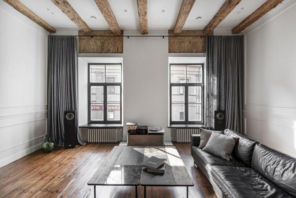 moderne Möbel Altbauwohnung Wohnung einrichten