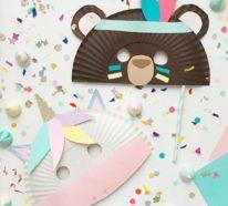 Basteln mit Kindern zu Fasching – noch 42 frische DIY Ideen zum Selbermachen