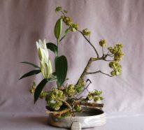 Ikebana – die japanische Blumensteckkunst und ihre Grundprinzipien