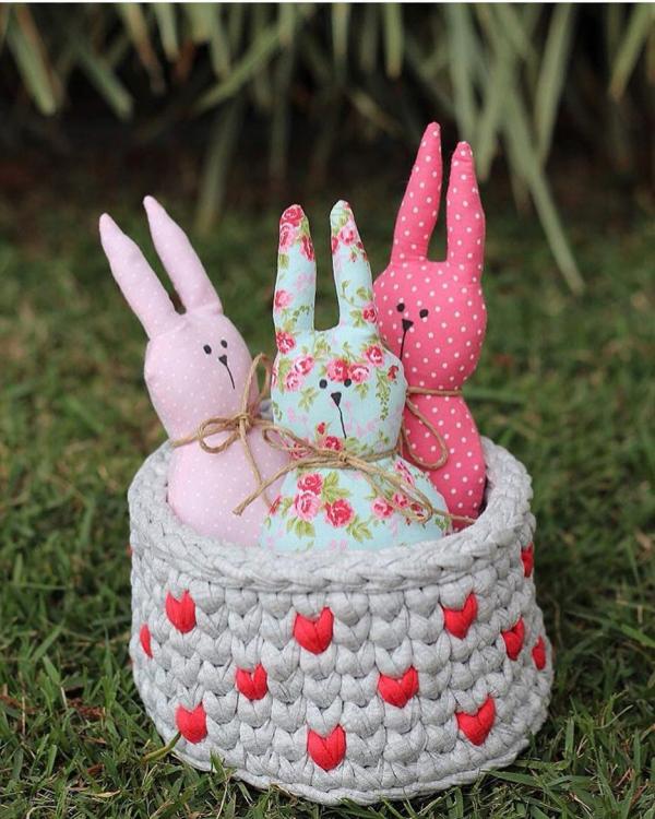Basteln mit Kindern Geschenke für Ostern