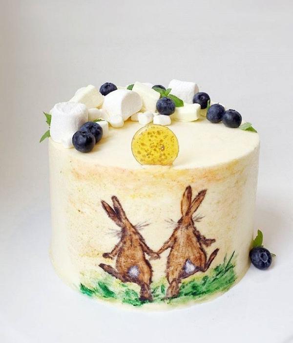 Bild DIY Ideen Torte für Ostern