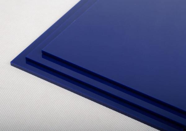 Blaue Platten Acryglassplatten