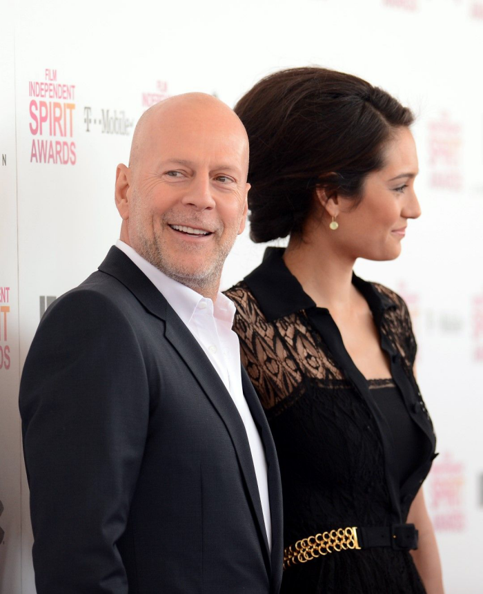 Bruce Willis Hollywood Star feiert 65. Geburtstag glücklich mit Ehefrau Emma heming