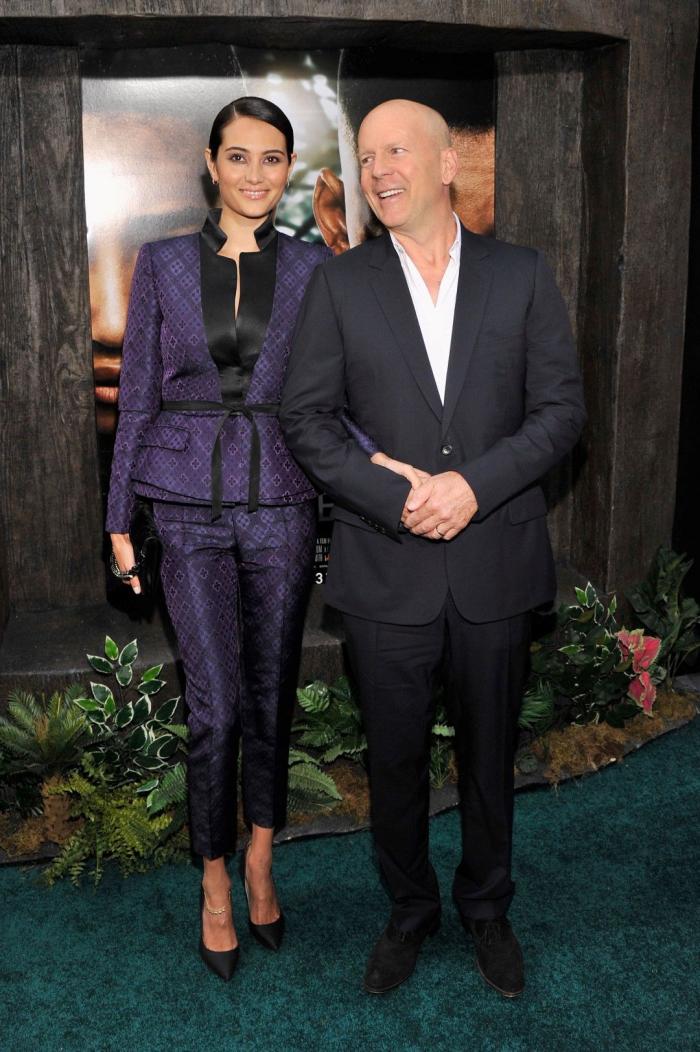 Bruce Willis Hollywood Star feiert 65. Geburtstag mit Ehefrau Emma Heming