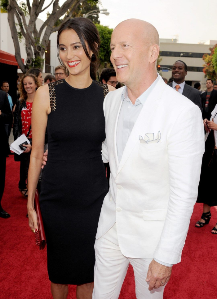 Bruce Willis Hollywood Star feiert 65. Geburtstag mit Emma Heming noch kein Oscar-Titel