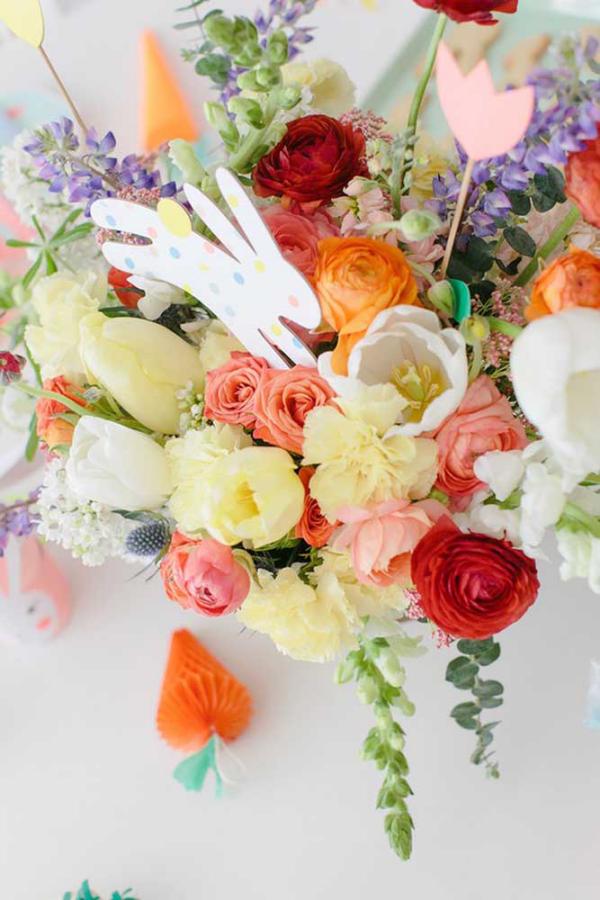 DIY Ideen Blumentrauß Ideen